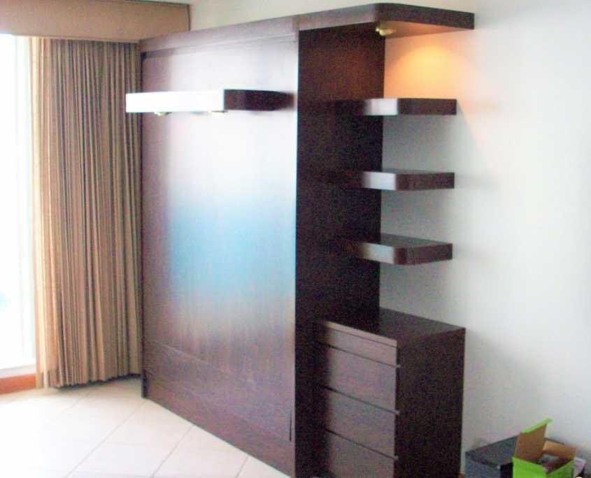 Platform Door Style Cabinet