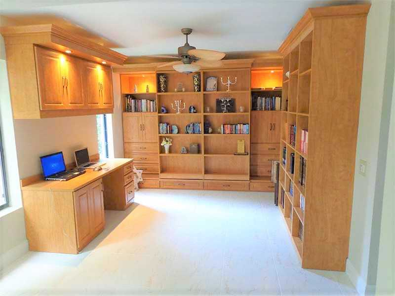 Murphy beds library